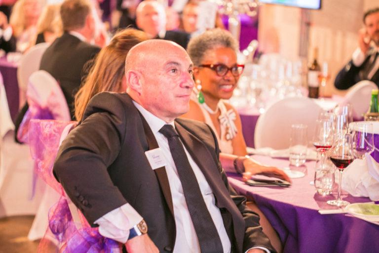 GESW Gala Dinner 2019 Harold Gittelmon Chairman and Mrs Peaches Golding OBE