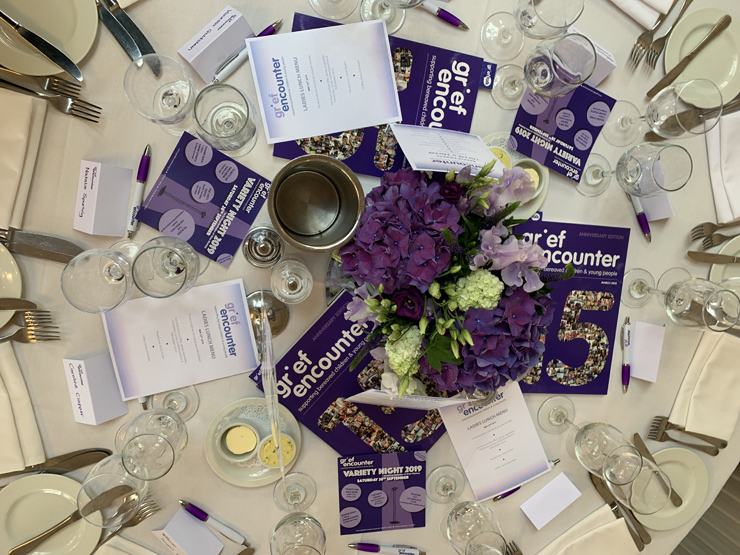 Grief Encoutner Ladies Lunch table 2019