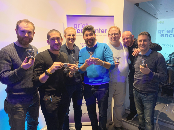 Grief Encounter Sports Quiz 2019 - Richard Haring-Nick Spero-Stuart Haring-Olly Spero-Craig Sherard-Andy Myerson -James Crown
