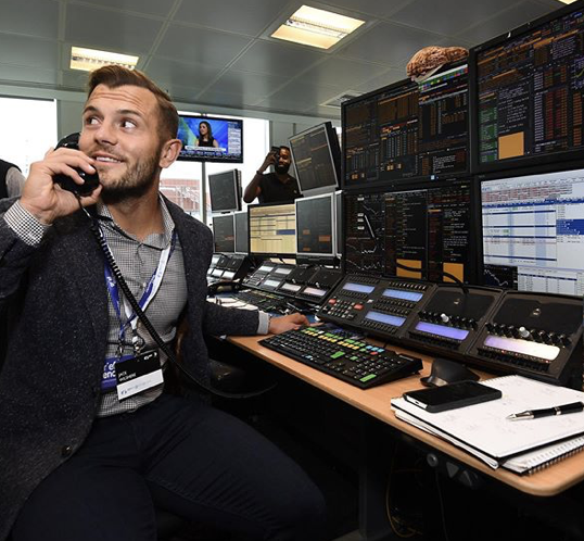 Jack Wilshere at GFI Group Charity Day