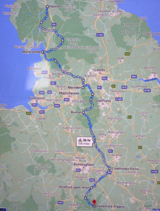 Quintessentially Foundation UK Bike Ride Route