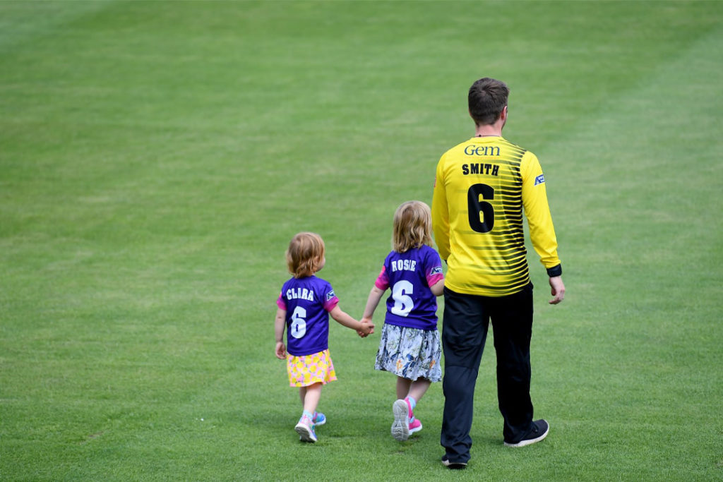 Tom Smith with Rosie & Clara